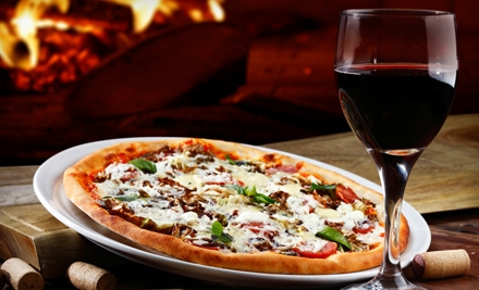 Three of Cups: Prix Fixe Pizza Dinner for 4 including Appetizers, Pizza, Wine, and Dessert  - Three of Cups in Manhattan