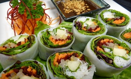 $30 Groupon to L'Thai Organic Cuisine & Wine Bar - L'Thai Organic Cuisine & Wine Bar in Smyrna