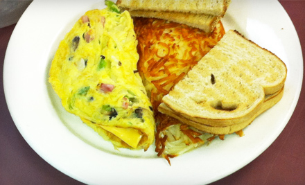The Omelette And Waffle Cafe Plymouth Mi Groupon