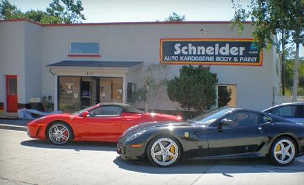 $200 Groupon to Schneider Auto Karosserie - Schneider Auto Karosserie in Salt Lake City