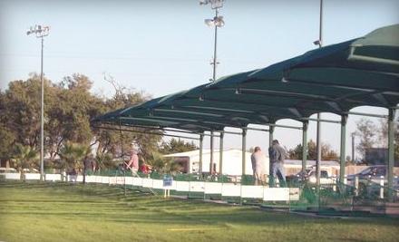 Cedar Park Driving Range: 3-Visit Punch Card - Cedar Park Driving Range in Cedar Park