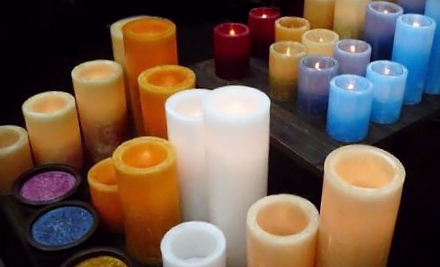 $30 Groupon to Stone Candles - Stone Candles in Culver City