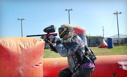 Galveston Island Paintball: 2-Hour Paintball Outing for 2 - Galveston Island Paintball in Galveston