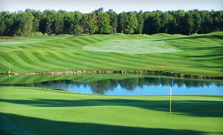 All-Day Golf Outing For 2 (up to a $230.50 value) - Black Bear Golf Club in Vanderbilt