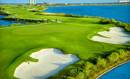 1 Round of New Super Twilight Golf Including Cart Rental (up to a $41 total value) - Moody Gardens Golf Course in Galveston
