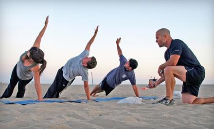 5-Class Pass (a $100 value) - Ultimate Beach Workout in Santa Monica