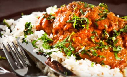 Indian Dinner for Two (up to a $35.85 value) - Hi Bombay in Portland