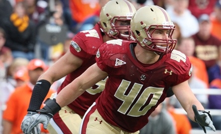 Boston College Eagles vs. Northwestern at Alumni Stadium on Sat., Sep. 3 at 12PM: End-Zone Seating for 1 - Boston College Eagles in Chestnut Hill