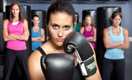 3 Drop-In Kickboxing Classes, including Glove and Wrap Rental (up to $45 value) - Fierce Fitness Kickboxing in Portland