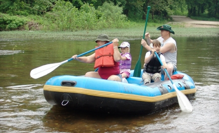 Tube Rentals for 2 (a $30 Value) - Riverfront Camp Canoe in Lebanon