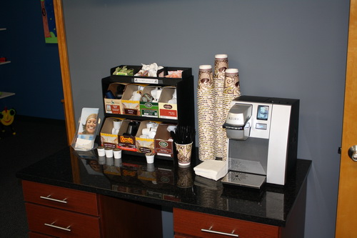 Kunsemiller orthodontics o fallon il groupon for Coffee bar ideas for office