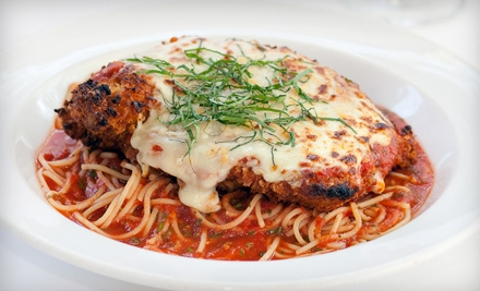 $50 Groupon to Caffe Tosca - Caffe Tosca in Hingham