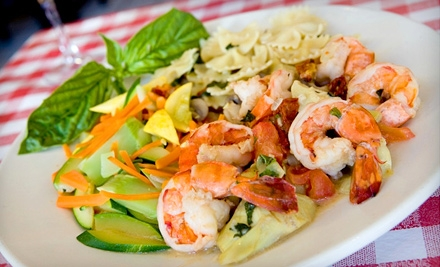 Italian Meal for 2 People (up to a $70.75 value) - La Strada in Long Beach