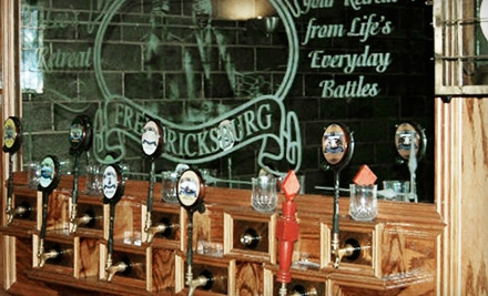 $20 Groupon to Lees Retreat Brew Pub  - Lees Retreat Brew Pub at the Blue & Gray Brewing Co. in Fredericksburg