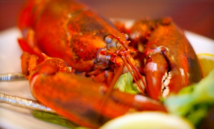 $40 Groupon for Dine-In New England Fare or Fresh-Market Fish to Take Home - Lobster Tail Restaurants & Fish Market in Windham