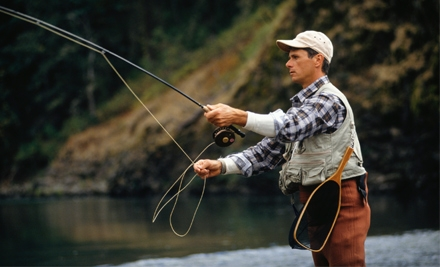 2.5-Hour Fly-Fishing Lesson Including a Dozen Custom-Tied Flies (a $111 Value) - Dickson Flyfishing in Arlington