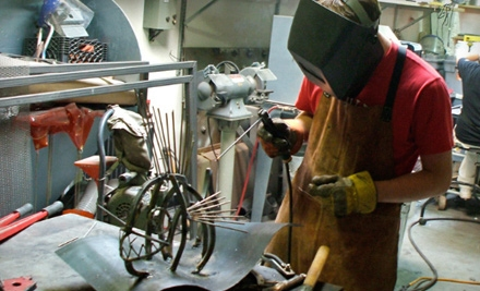 3-Hour Intro to Welding Workshop for 2 (a $300 value) - Stonybrook Fine Arts in Jamaica Plain