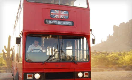 1 Ticket to The Phoenix Bus Tour Treasure Hunt (a $40 value) - The Real London Bus Company in