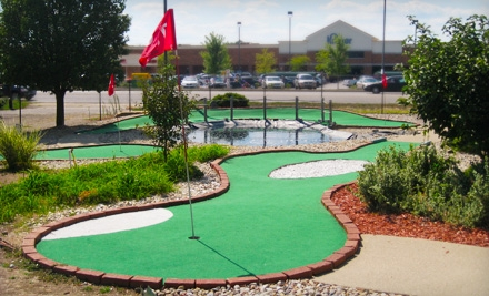 Miniature-Golf Outing for 2 (up to a $12 value) - Orchard Golf Center in Greenwood