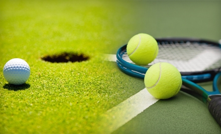 One 60-Minute Group Golf Class or Game Breaker Golf Clinic (a $40 value) - Play Golf and Tennis in Chicago
