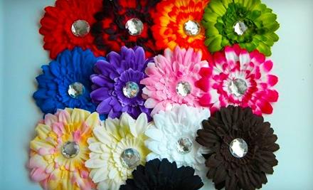 $12 Groupon for Handmade Flower Clips - Doodlebug Boutique in