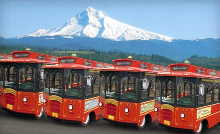 Urban Wine-and-Cheese Trolley Tour for 1 (a $119 value) - Portland Trolley in Tigard