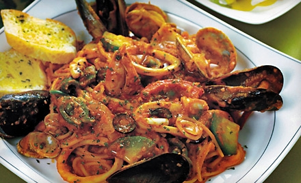 Two-Course Dinner for 4 (up to a $161 value) - Ristorante Pavarotti in Reading