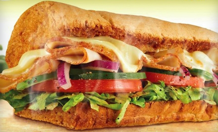 Sandwich Meal for 2 (up to a $21 value) - Subway in Chicago