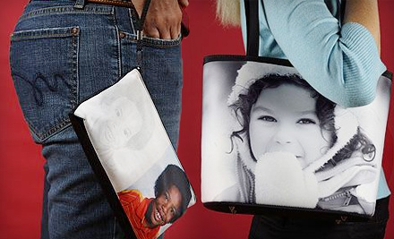 Custom-Photo Clutch (a $60 value) - SnapTotes.com in