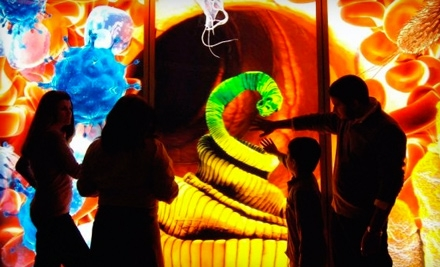 2 Admissions to all Exhibitions, 2 Tickets to the IMAX Theater, and 2 Tickets to the 3-D Film Theater (up to a $49 value) - Liberty Science Center in Jersey City