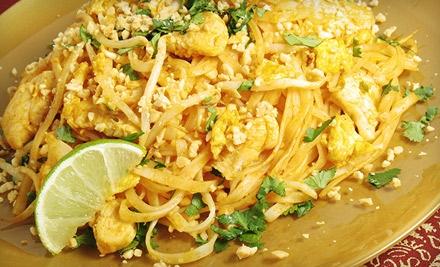 $20 Groupon to Siam Patio Thai Cuisine - Siam Patio Thai Cuisine in Fair Oaks
