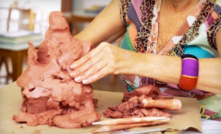 $40 Worth of Walk-in Mosaic, Pottery Paint or Clay-Sculpting Projects - Quiggly's Clayhouse in Richardson
