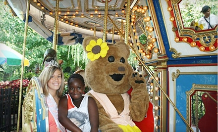 Admission for 2 and 2 Ride Passes (a $16 value) - Camden Children's Garden in Camden