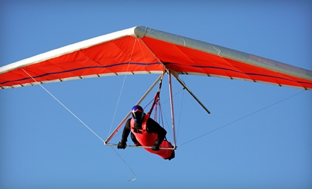 1-Hour Hang Gliding Lesson (a $170 Value) - Dive High in Tracy