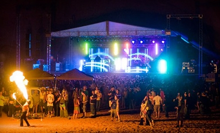 Powellapalooza Beach Party at Page Shores Amphitheater on Lake Powell from Thurs., Sept. 22 through Sun., Sept. 25: 2-Day Pass - Powellapalooza Beach Party in Page