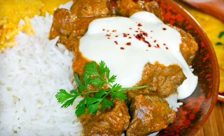 $26 Groupon to India Palace - India Palace in Las Vegas