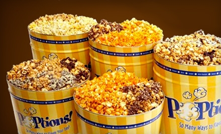 $10 Groupon for Gourmet Flavoured-Popcorn Bags - POPtions! Popcorn in St Louis