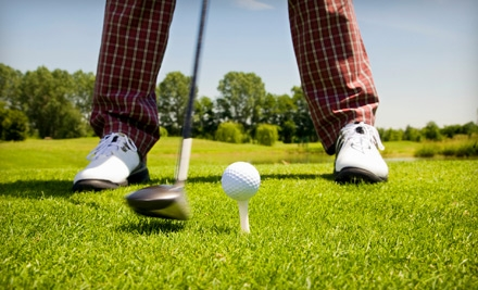 1 Day of Unlimited Rounds of Golf with a Cart for 2 People (up to a $58 value) - Sunset Golf Club in Grand Prairie