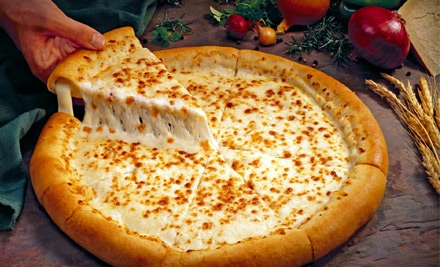 Pizza Breakfast for Two (up to $23 total value) on Saturday or Sunday Between 9AM and 1PM - Gepetto's in Holladay