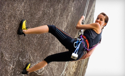 Half Day of Guided Rock Climbing for 2 (a $300 value) - Rocky Top Guides in Lookout Mountain