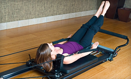 One Pack of 5 Reformer/Tower Pilates Classes (a $135 value) - Pilates and Company in Highland Park