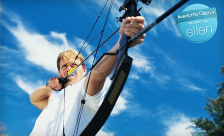 1 Punch Card for 4 Archery-Practice Sessions (a $59 value) - Archers Afield in Tigard