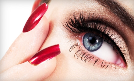 Full Set of Faux-Mink Eyelash Extensions, Including Conditioner and Sealant (a $350 value) - Forever Young Cosmetic Spa in Glen Ellyn
