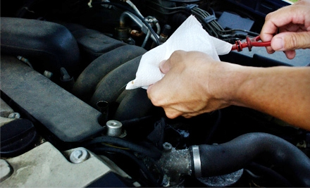 3 Standard Oil Changes and 3 30-Point Inspections (a $420 value) - Concord Auto Service in Concord