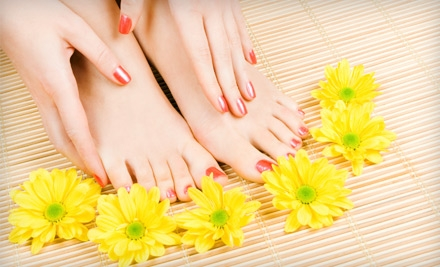 OPI Axxium Gel Manicure (a $35 value) - Charming Nail & Spa in Queens