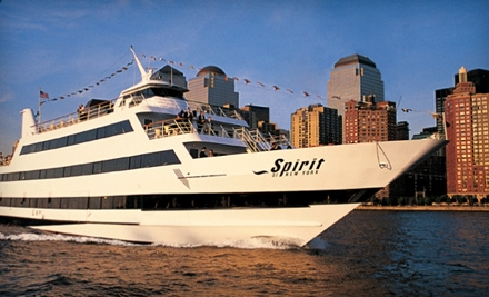 3-Hour Dinner Cruise Sun.-Thurs. (up to a $102 value) - Entertainment Cruises in Manhattan