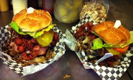 The Bucket: Burger Meal for 2 (up to a $42 total value) - The Bucket in Los Angeles