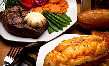 Upscale Steak and Seafood Dinner for 2 (up to a $72.50 value) - Palmers Restaurant & Tavern in Andover