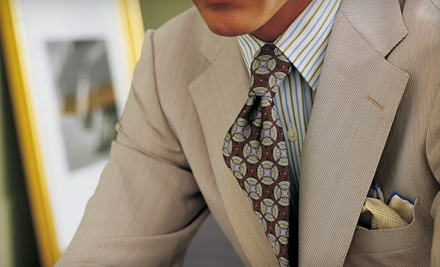 1 Custom Suit (up to a $2490 value) - J. Barbaro Clothiers in Auburn Hills