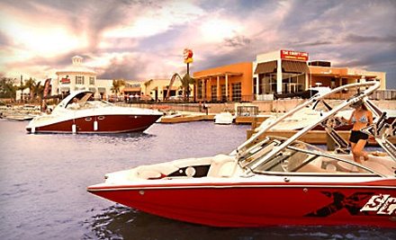 Chartered Boat for Four Hours for Up to Seven People (up to a $535 value) - Waterpoint Marina in Montgomery